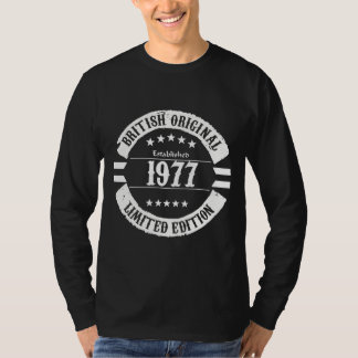 British Original 1977, limited edition! T-Shirt