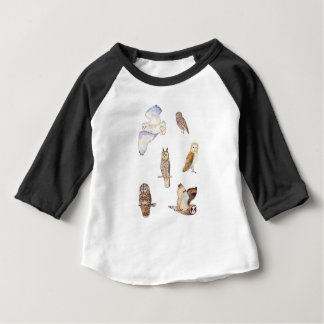 British owl species baby T-Shirt