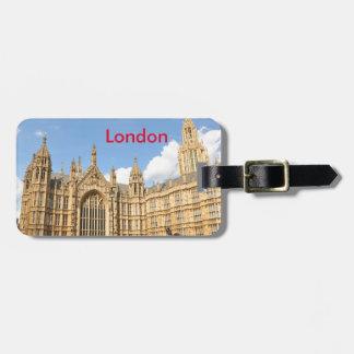 British Parliament Luggage Tag