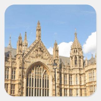 British Parliament Square Sticker