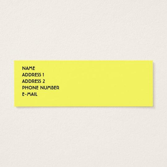 BRITISH PHONE BOOTH PROFILE CARD