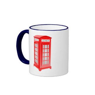 British Phone booth Ringer Mug