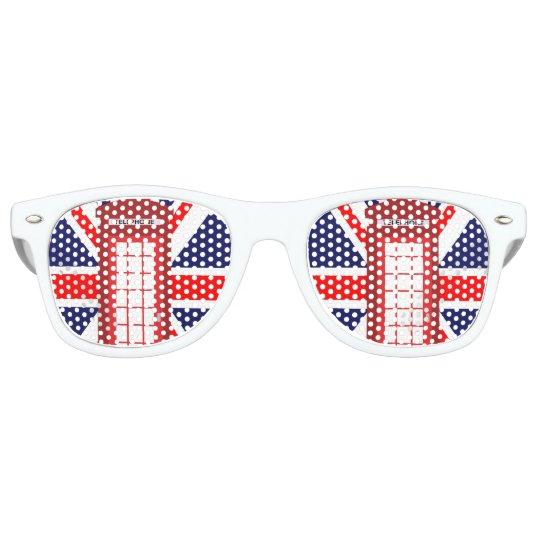 Union Jack glasses,UK national flag glasses,Great Britain flag glasses
