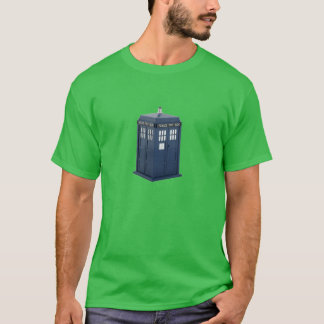British Police Box T-Shirt