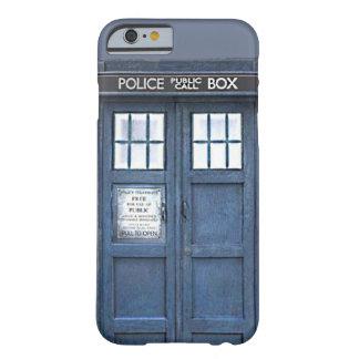 British Police Public Call Box Blue iPhone 6 case