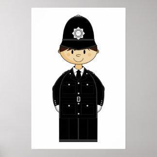 British Policeman Poster