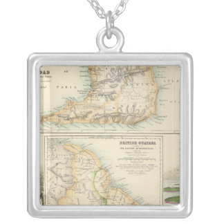 British Possessions on the North East Coast Silver Plated Necklace