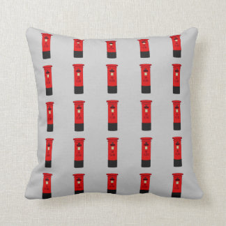 British Post Box Cushion