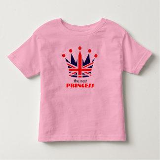 British Princess Crown T-shirt