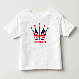 British Princess Crown Toddler T-Shirt