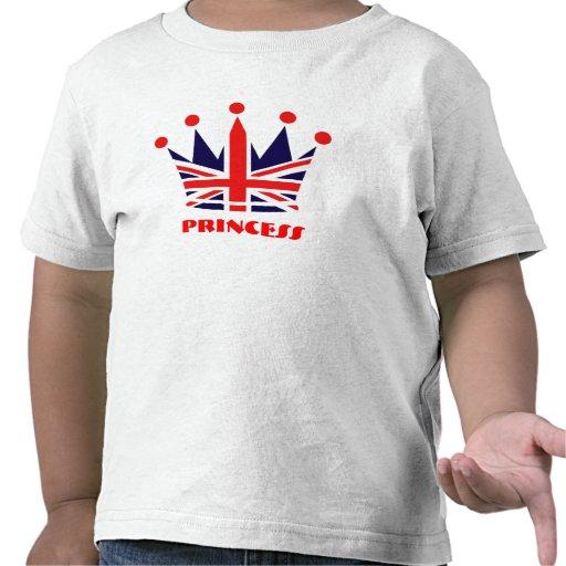 British Princess Crown Shirt