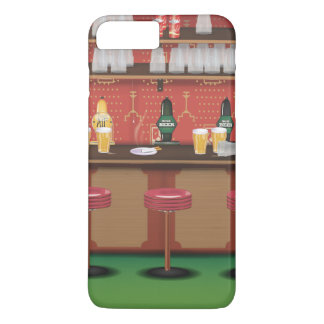 British Pub Bar iPhone 7 Plus Case