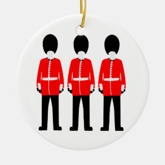 British Queen's Guard Christmas Ornament