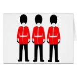 British Queen's Guard Greeting Card