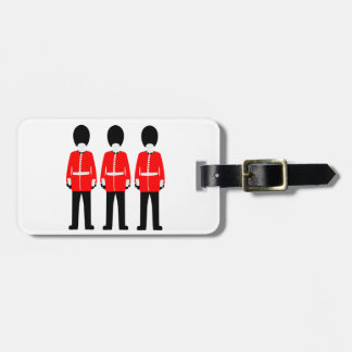 British Queen's Guard Luggage Tag