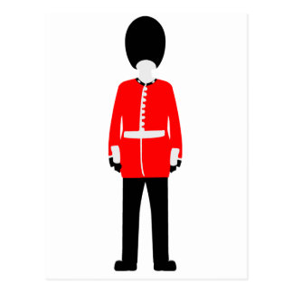 British Queen's Guard Postcard