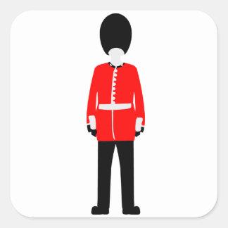British Queen's Guard Sticker