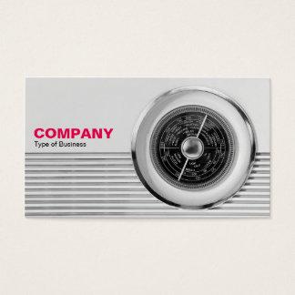 British Radio Dial - Black and White