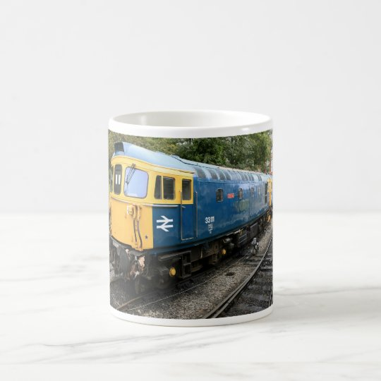 British Rail Class 33 Diesel Train Mug