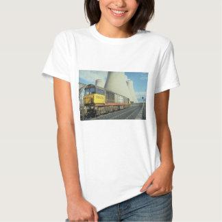 British Rail coal train at power station, U.K. Shirts