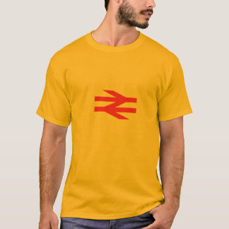 British Rail Double Arrow - Gold t-shirt