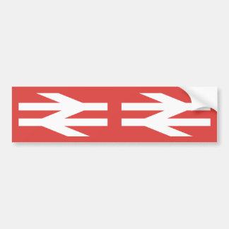 British Rail Vintage Logo Car Bumper Sticker