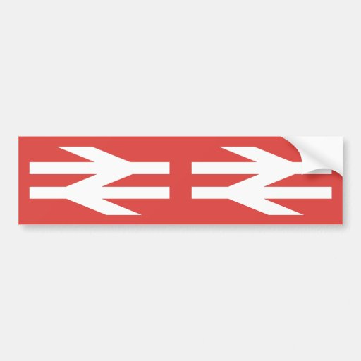British Rail Vintage Logo Bumper Sticker