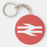 British Rail Vintage Logo Key Chain