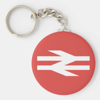 British Rail Vintage Logo Key Ring
