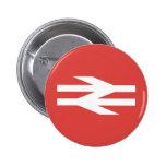 British Rail Vintage Logo Pin