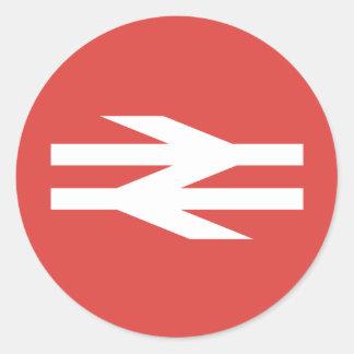 British Rail Vintage Logo Round Sticker