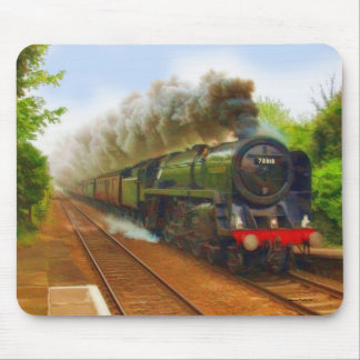 British Railway Steam Train Art IV Mouse Mat
