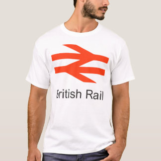 British Railways 1970s Trains Hiking Duck T-Shirt