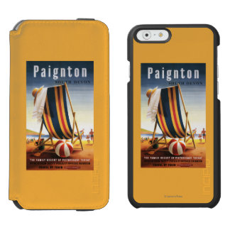 British Railways Beach Chair and Ball Poster Incipio Watson™ iPhone 6 Wallet Case