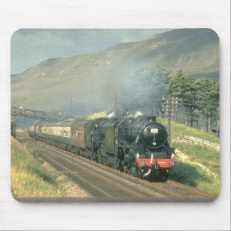 British Railway's last steam-hauled train towards Mouse Mat