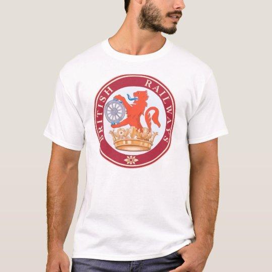 British Railways Old Vintage Trains Hiking Duck T-Shirt