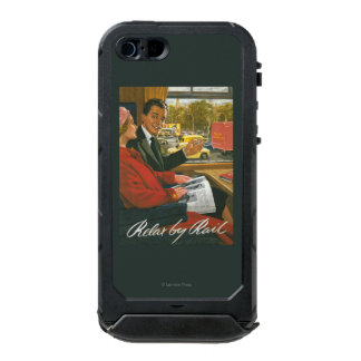 British Railways Relax by Rail Poster Incipio ATLAS ID™ iPhone 5 Case