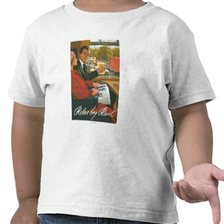 British Railways Relax by Rail Poster Tees