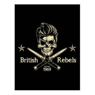 British Rebels Postcard