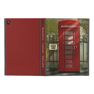 "British Red Telephone Box London Street iPad Pro 9.7"" Case"