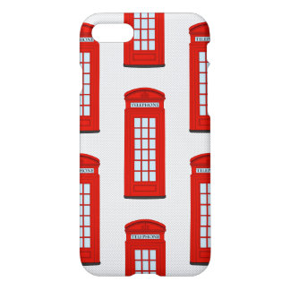 British Red Telephone Box Pattern iPhone 7 Case