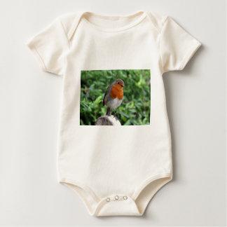 British Robin Baby Bodysuit