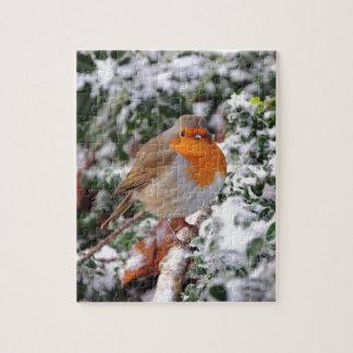 British robin redbreast jigsaw puzzle