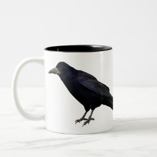 British Rook Corvid-lover's Wildlife Photo Two-Tone Mug