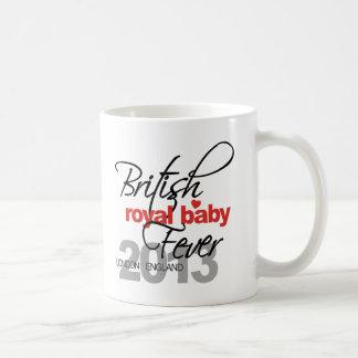 British Royal Baby Fever - Prince George Basic White Mug