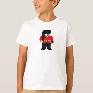 British Royal Guard Badger Cartoon Illustration T-shirts