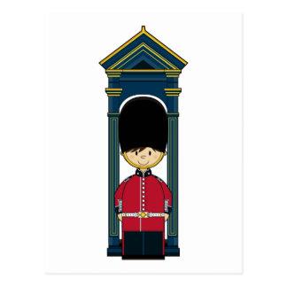 British Royal Guard Postcard