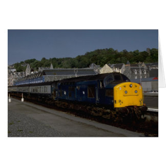 British Rys Delta class diesel Greeting Card