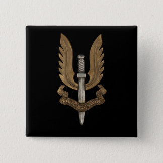 British SAS 15 Cm Square Badge