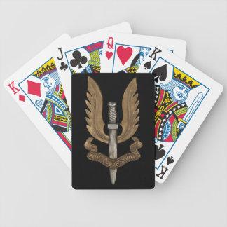 British SAS Bicycle Playing Cards